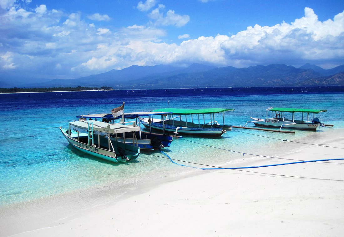 Gili Trawangan Hotels On The Beach
